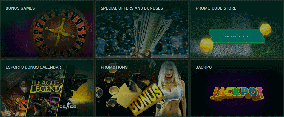 All bonuses and promotions of the Betwinner